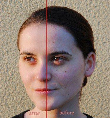 روتوش و ادیت کردن چهره