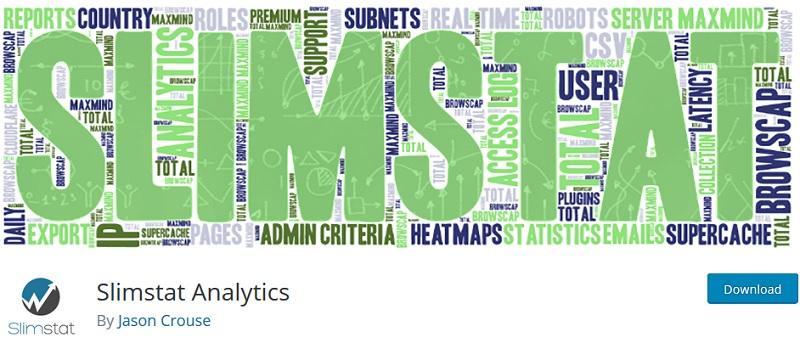 افزونه آمارگیر Slimstat Analytics