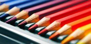 کاور فیس بوک مداد رنگی