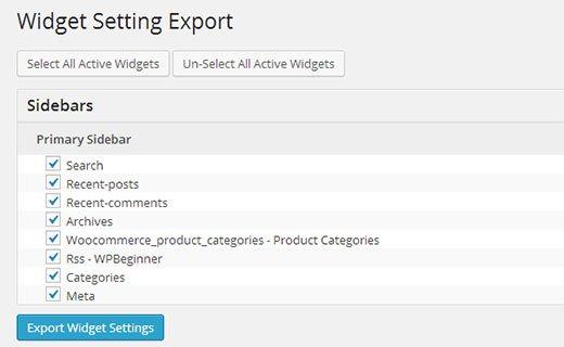 exportingwidgets