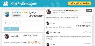 ارسال پیام بین کاربران در وردپرس با افزونه Private Messages