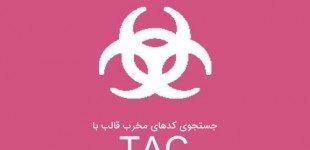 جستجوی کدهای مخرب قالب با افزونه TAC