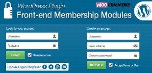 ورود و عضویت پیشرفته کاربران در وردپرس با Front end Membership