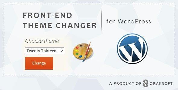 ایجاد قابلیت تغییر قالب توسط کاربران با افزونه Front-end Theme Changer