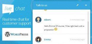 پشتیبانی و چت آنلاین با کاربران در وردپرس با افزونه Live Chat WordPress
