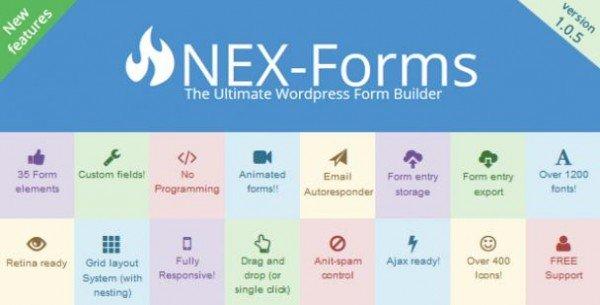 ایجاد فرم های حرفه ای در وردپرس با افزونه NEX Forms