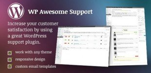 پشتیبانی کاربران از طریق تیکت در وردپرس با افزونه WP Awesome Support