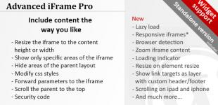 نمایش آیفریم پیشرفته در وردپرس با افزونه Advanced iFrame Pro