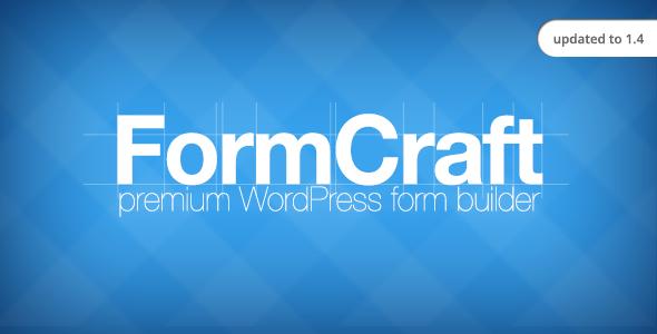 ایجاد انواع فرم در وردپرس با افزونه FormCraft