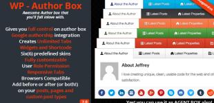 نمایش اطلاعات نویسنده در وردپرس با افزونه WP Author Box