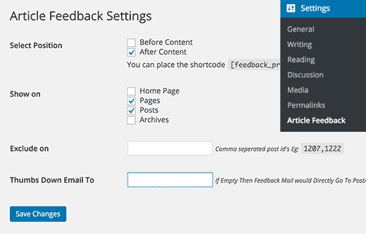 articlefeedback-settings