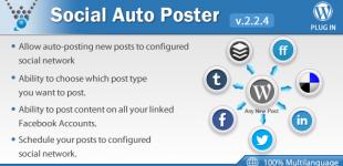 اشتراک گذاری خودکار مطالب در وردپرس با افزونه Social Auto Poster