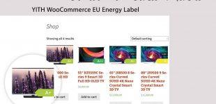 افزودن برچسب انرژی برای محصولات در ووکامرس