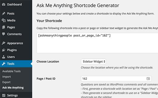 ama-widget-shortcode