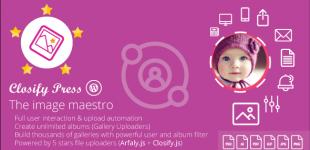تبدیل وردپرس به آپلود سنتر با افزونه Closify Press