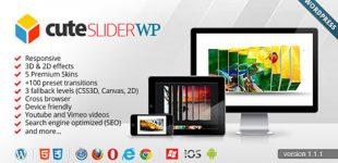 ایجاد اسلایدر دوبعدی و سه بعدی در وردپرس با افزونه Cute Slider