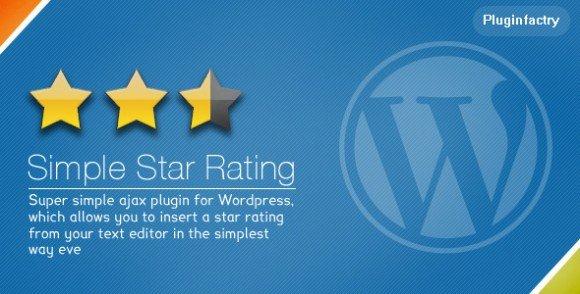 ایجاد سیستم امتیاز دهی ستاره ای در وردپرس با افزونه Simple Star Rating