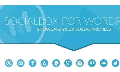 نمایش تعداد مشترک شبکه های اجتماعی در وردپرس با Socialbox