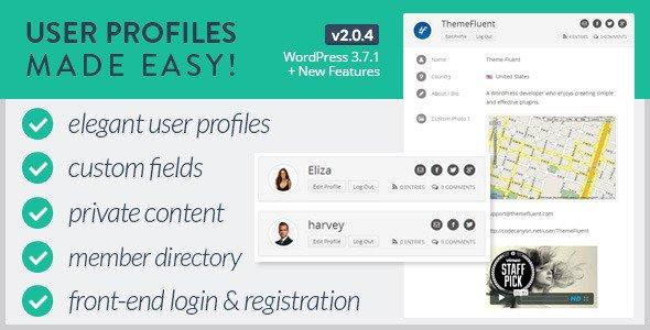 ایجاد پروفایل اختصاصی کاربران در وردپرس با User Profile