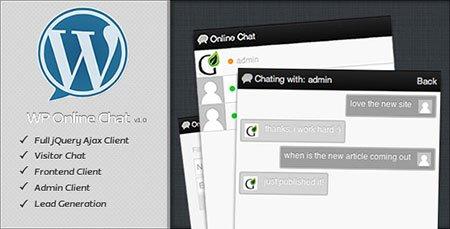 افزونه چت و گفتگوی آنلاین در وردپرس با افزونه WP Online Chat