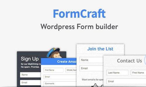 ایجاد انواع فرم در وردپرس با افزونه Form Craft Basic