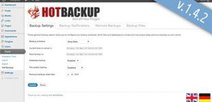 مدیریت بکاپ و پشتیبان گیری در وردپرس با افزونه Hot Backup Manager