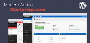 تغییر ظاهر پیشخوان وردپرس با افزونه Modern Admin