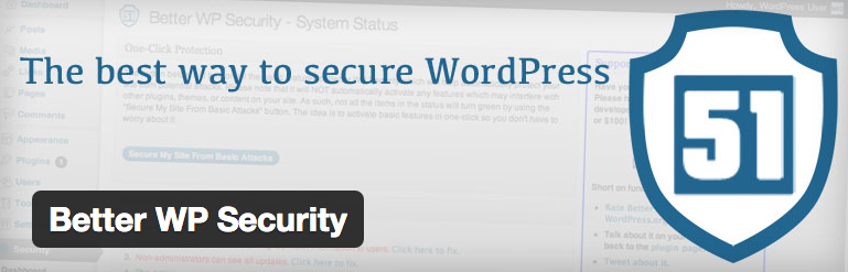 افزایش امنیت سایت وردپرسی با افزونه Better Wp Security