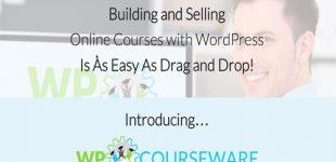مدیریت حرفه ای آموزش در وردپرس با افزونه Courseware