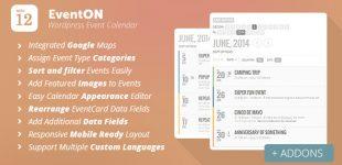 ایجاد تقویم رویداد ها در وردپرس با افزونه EventOn