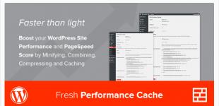 بهینه سازی وردپرس با افزونه Fresh Performance Cache