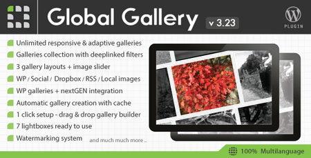 ایجاد گالری تصاویر حرفه ای در وردپرس با افزونه Global Gallery
