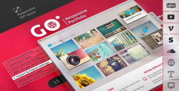 ایجاد وبسایت نمونه کا در وردپرس با Go Portfolio wp