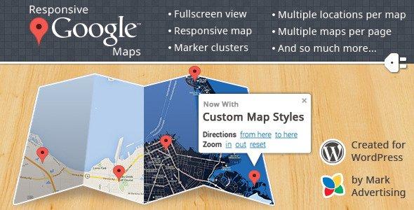 نمایش نقشه گوگل در وردپرس با افزونه Google Map