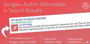 نمایش نام و عکس نویسنده در وردپرس با افزونه Google Plus Author Information