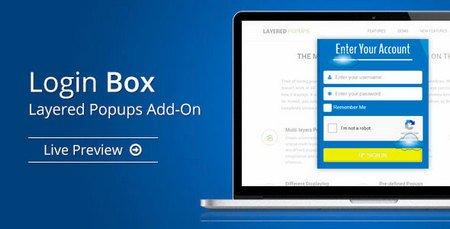 ایجاد فرم ورود به صورت لایت باکس و پاپ آپ در وردپرس با افزونه Login Box