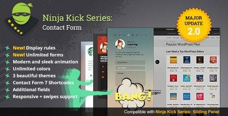 ایجاد فرم تماس با ما در وردپرس با افزونه Ninja Kick