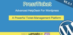 پشتیبانی تیکتی در وردپرس با افزونه PressTicket