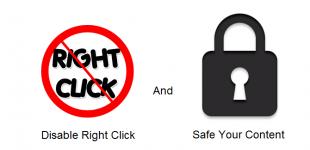 بستن کلیک راست در وردپرس با افزونه Right click