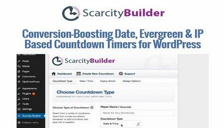 شمارش معکوس حرفه ای در وردپرس با افزونه Scarcity Builder