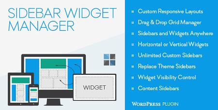 ایجاد سایدبار و ابزارک سفارشی در وردپرس با افزونه Sidebar & Widget Manager