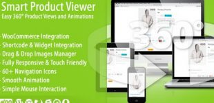 نمایش سه بعدی و 360 درجه محصولات در ووکامرس با افزونه Smart Product Viewer