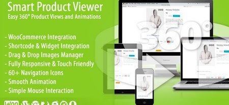 نمایش سه بعدی و ۳۶۰ درجه محصولات در ووکامرس با افزونه Smart Product Viewer
