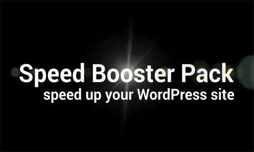 افزایش سرعت سایت وردپرسی با افرونه Speed Booster Pack