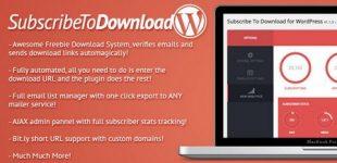دانلود به ازای پرداخت در وردپرس با افزونه Subcribe to download