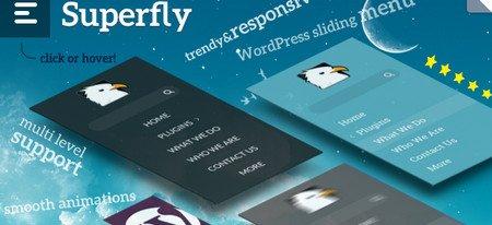 ایجاد و شخصی سازی منو های وردپرس با افزونه Superfly Menu Plugin