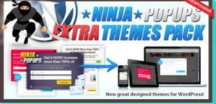 دانلود افزونه Themes Pack For Ninja Popups برای وردپرس