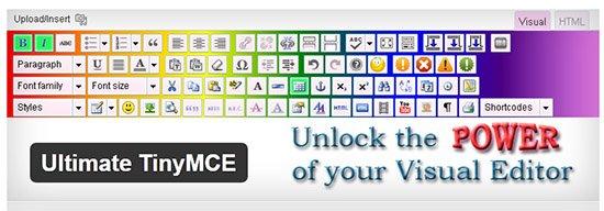 ویرایشگر حرفه ای وردپرس با افزونه Ultimate TinyMCE