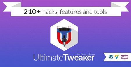 افزودن هک و ابزار های کاربردی وردپرس با افزونه Ultimate Tweaker