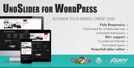 ایجاد اسلایدر زیبا و قدرتمند در وردپرس با افزونه UnoSlider